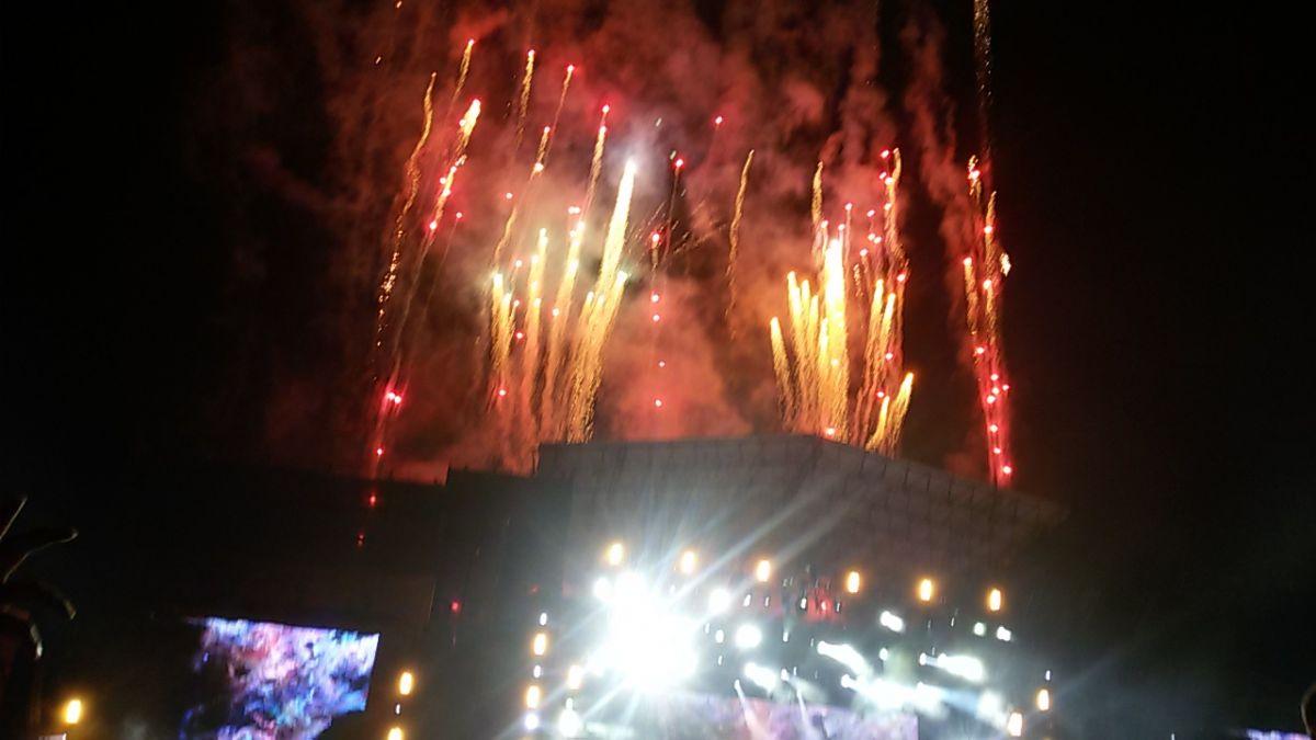 Fireworks …amazing show