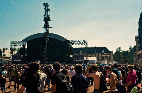 European festival shows