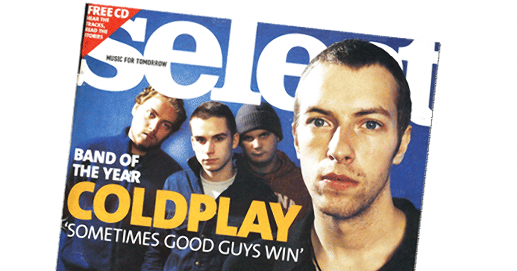 Select magazine cover - Coldplay Timeline