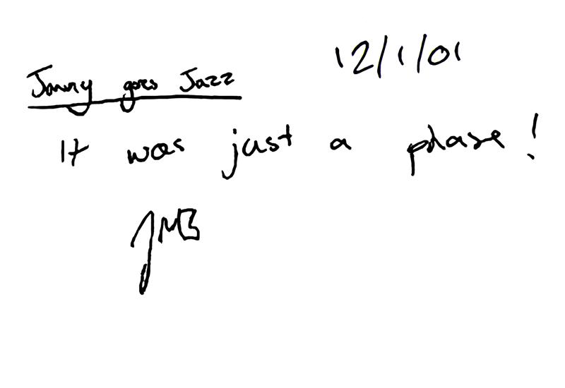 "By Jonny ""Jazz"" Buckland"