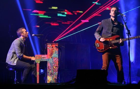 Coldplay's 2011 set named Favourite Glastonbury Moment